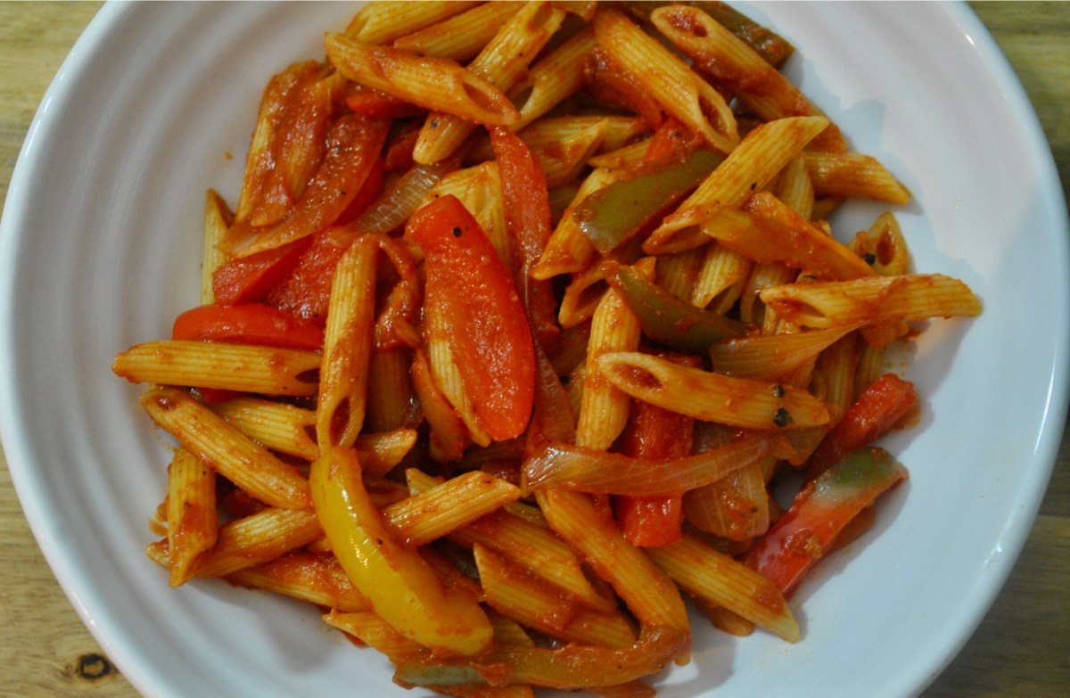 vegan Fajita pasta recipe - 3