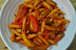 vegan Fajita pasta recipe - 3