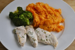 Mustard Chicken Swede Sweet Potato and Carrot Mash recipe - 1