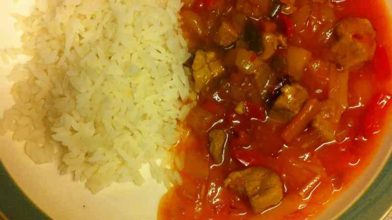 Slow Cooked Sweet & Sour Pork