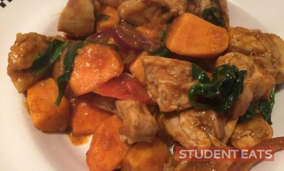 chicken sweet potato curry 2