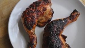 crispy chicken thighs recipe - 1