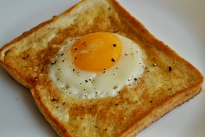 egg in the hole recipe - 1