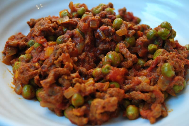 Five Ingredient Mince and Vegetable Curry