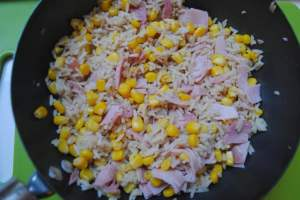 rice ham fried 1