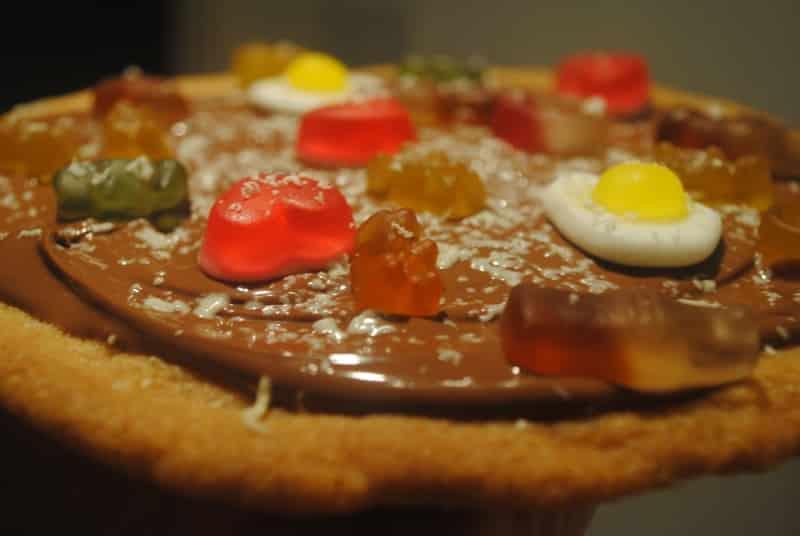 Sweet pizza cookie recipe