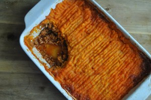 sweet potato shepherds pie recipe - 2