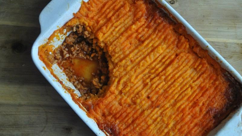 sweet potato shepherds pie recipe - 2