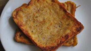 banana toast recipe
