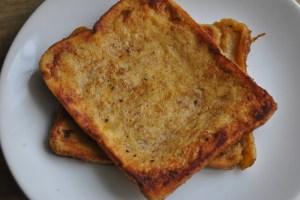 banana toast recipe - 1