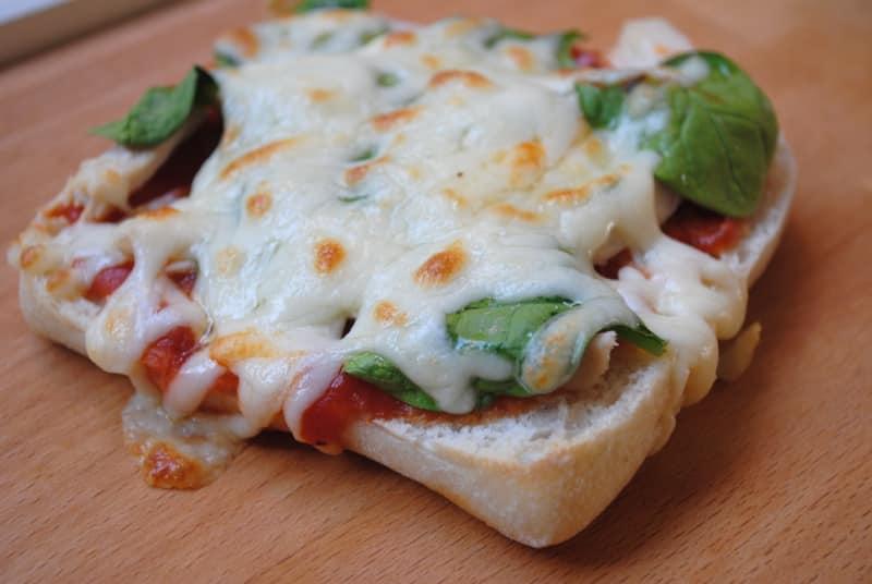 spinach chicken pizza 2