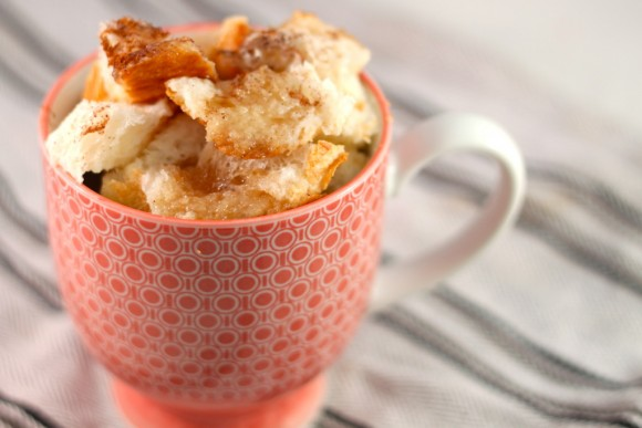 French Toast in A Cup