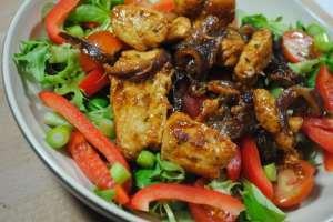 chicken red onion salad recipe - 1
