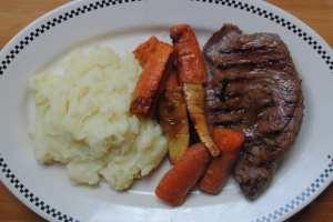 quick half roast recipe 1