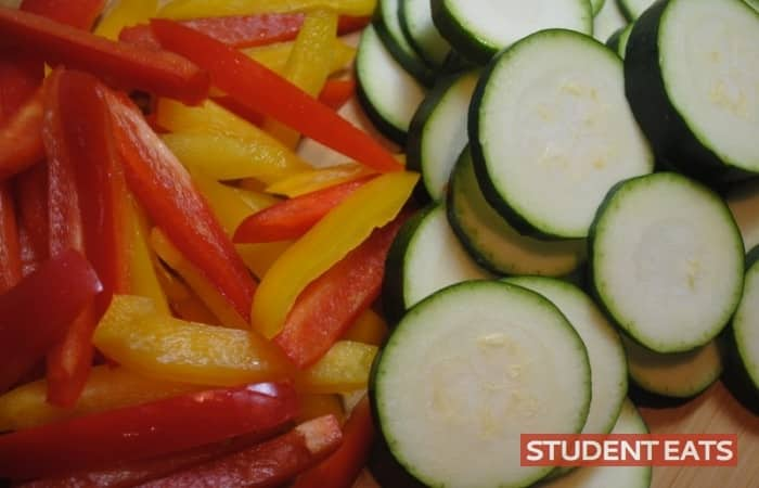 veggie gratin student recipe 4