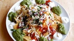 Zingy vegetarian nachos recipe