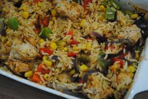cajun chicken rice recipe  - 1