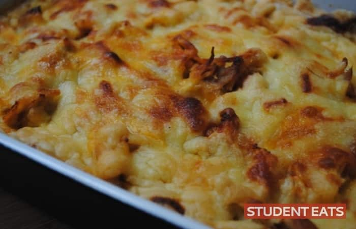 chicken enchilada casserole 3