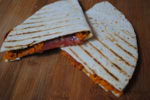 Sweet potat chorizo Quesadillas 1