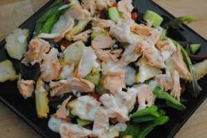 simple salmon salad recipe - 2