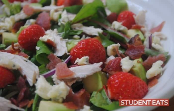 strawberry chicken salad 3