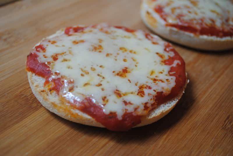 Super quick pizza muffin recipe