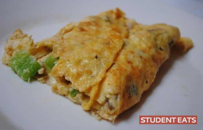 veggie omlette recipe