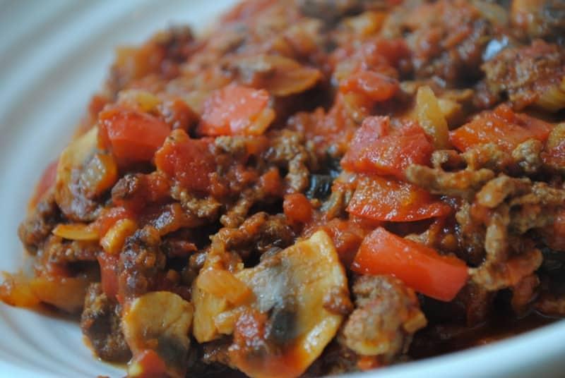 Spaghetti Bolognese students recipe