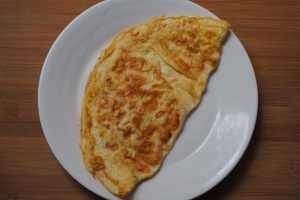 cheese omlette