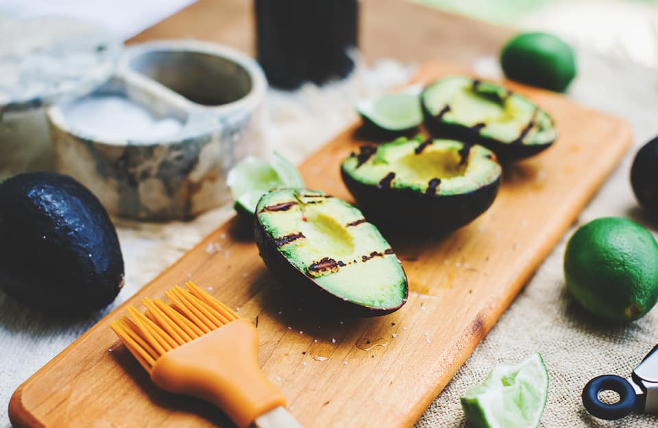 lime grilled avocados