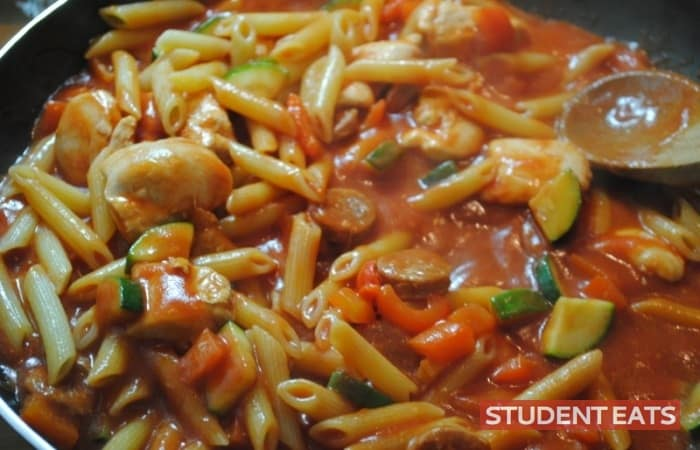 spicy chicken pasta recipe - 2
