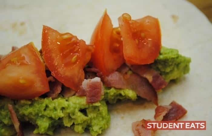 blta wraps recipe - 2