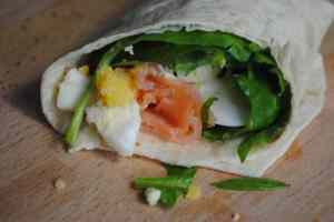 egg salmon wrap recipes - 1