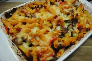 vegetables pasta bake recipe - 1