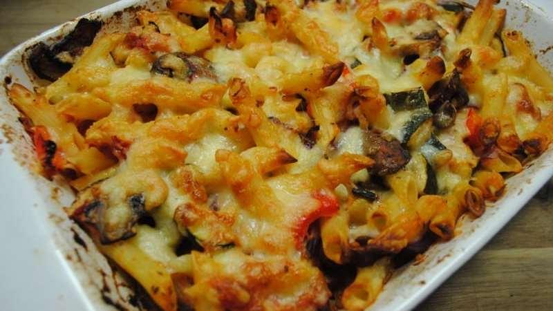 vegetables pasta bake recipe - 1
