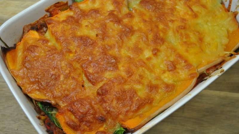 vegetable Lasagne without pasta recipe - 1
