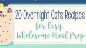 Overnight Oats Recipes - 1