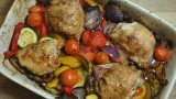 Healthy Lemon Roast Chicken Vegetable Recipe - 3