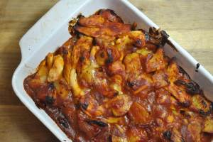 chicken bbq bacon bake - 2