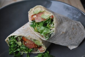 Vegan Hummus and Veggie Wrap recipe - 2