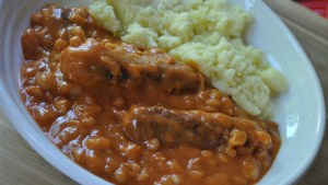 One Pan Sausage and Baked Bean Casserole Recipe - 1