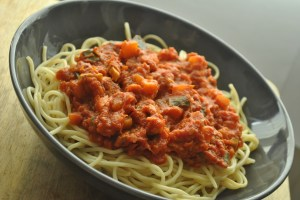 vegan bolognese recipe - 1