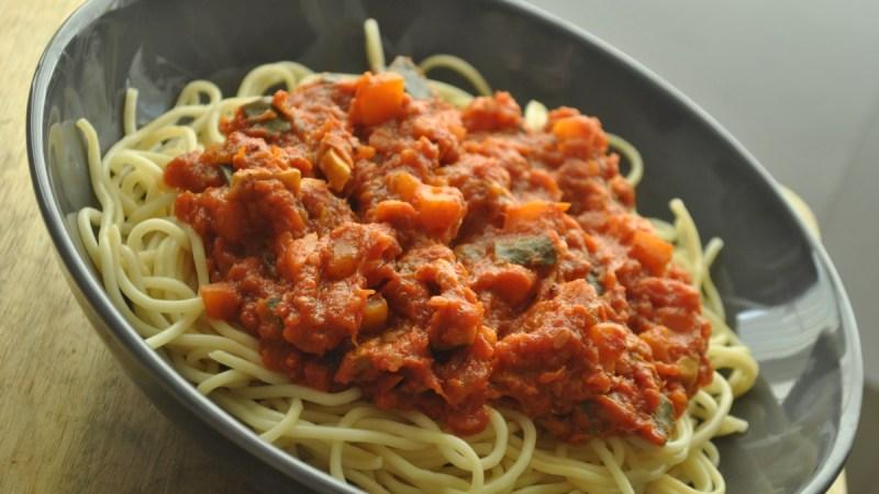 vegan bolognese recipe - 1