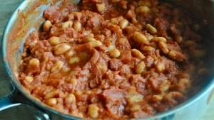One Pan Easy Chorizo and Bean Stew recipe - 2