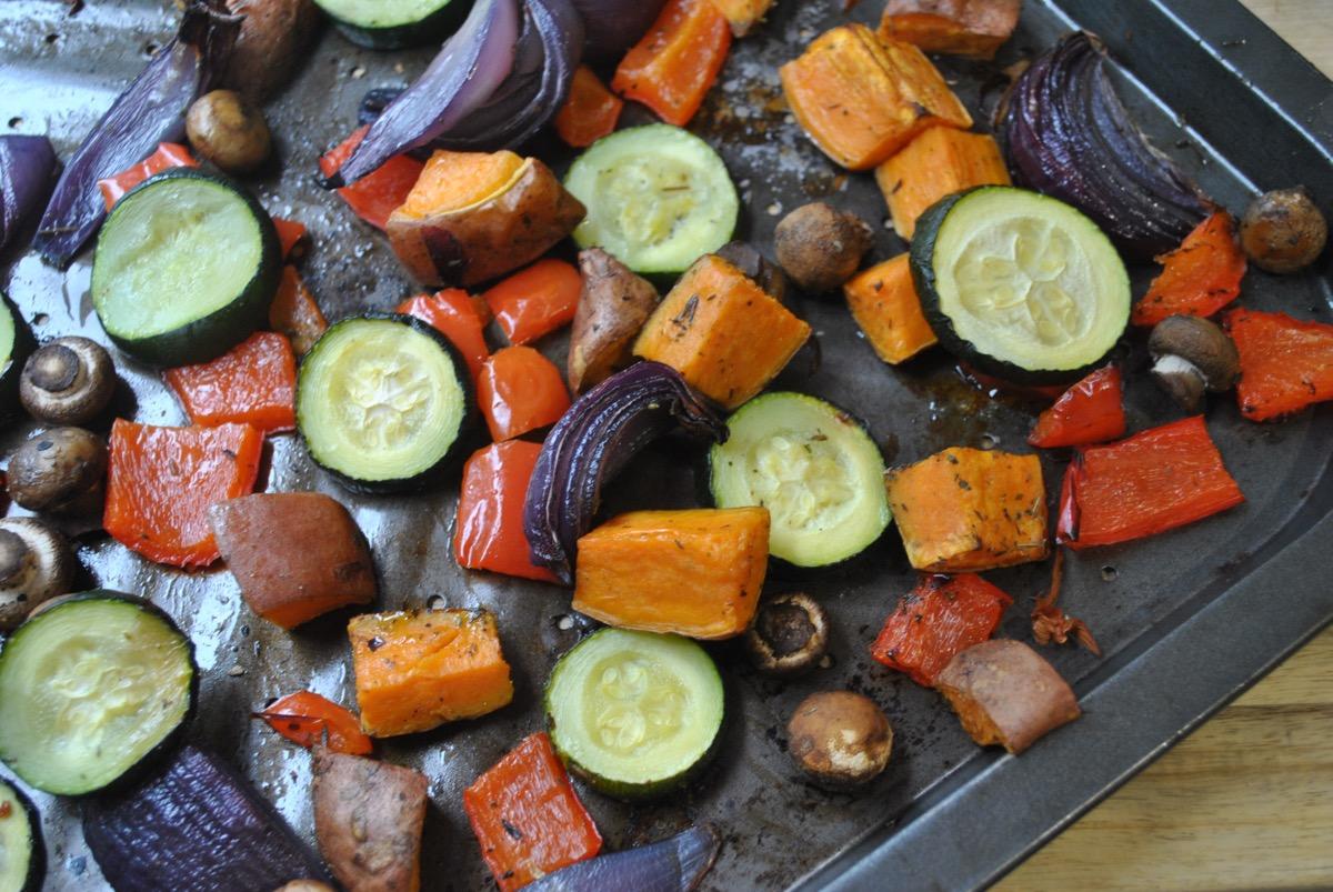 roasted vegetables recipe - 1