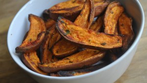Spicy Sweet Potato Wedges recipe - 1