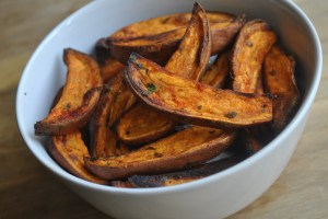 Spicy Sweet Potato Wedges recipe - 1