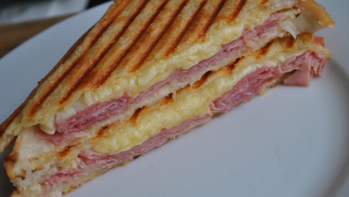 cheese ham toastie - 1