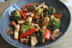 chorizo pork stir fry recipe - 2