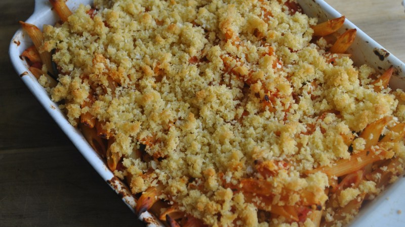 garlic vegetable pasta bake recipe - 2